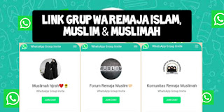 Link Grup Wa Remaja Muslimah