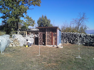 Donkey house and chicken coop