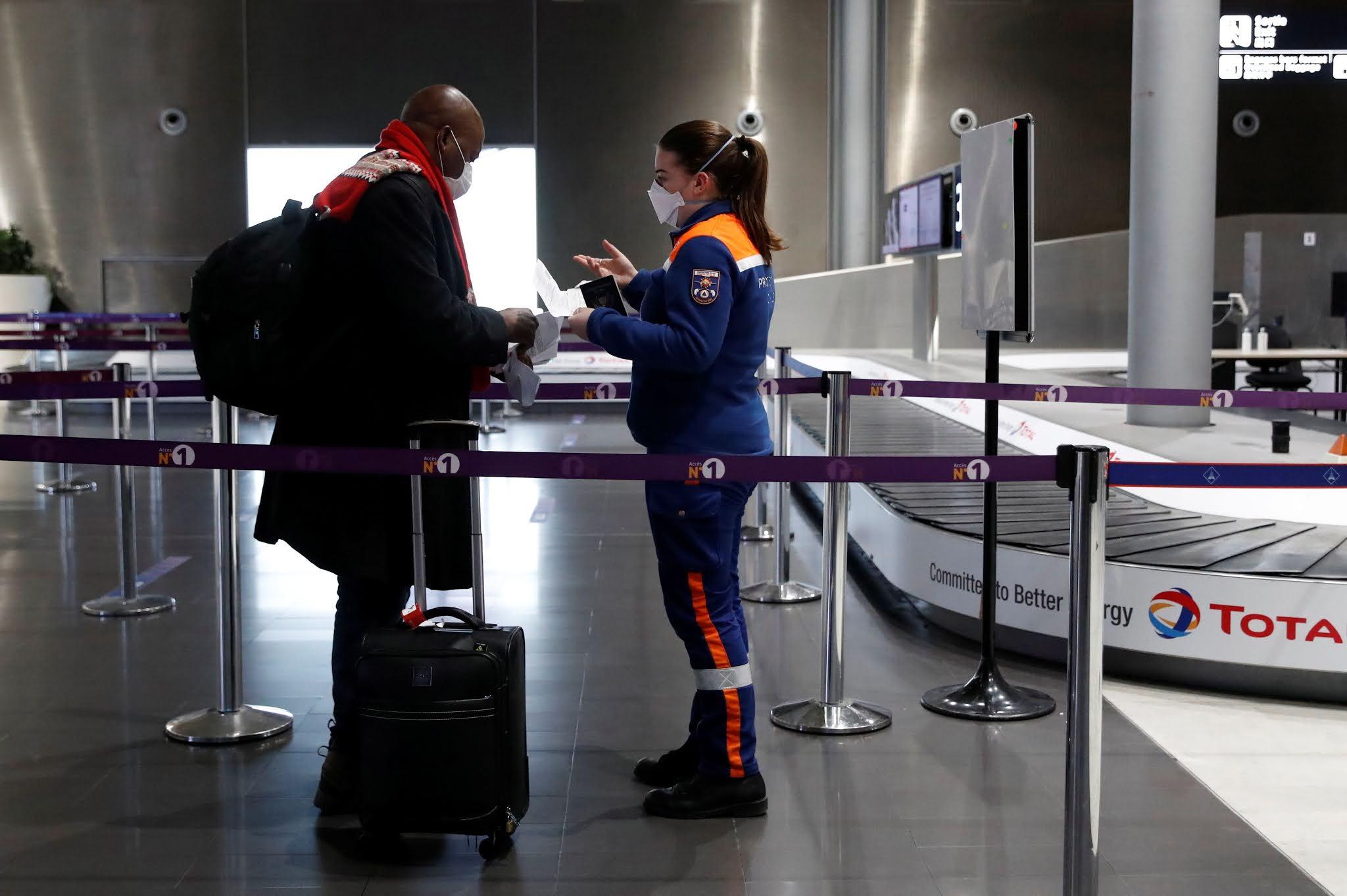 Francia exige cuarentena de 10 días a viajeros procedentes de Argentina, Brasil y Sudáfrica