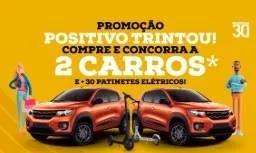 Cadastrar Promoção Positivo 30 Anos Aniversário 2019 Trintou - 2 Carros e 30 Patinetes Elétricos