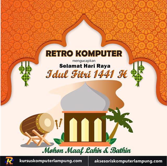 Selamat Idul Fitri 1441H-Mohon maaf lahir bathin