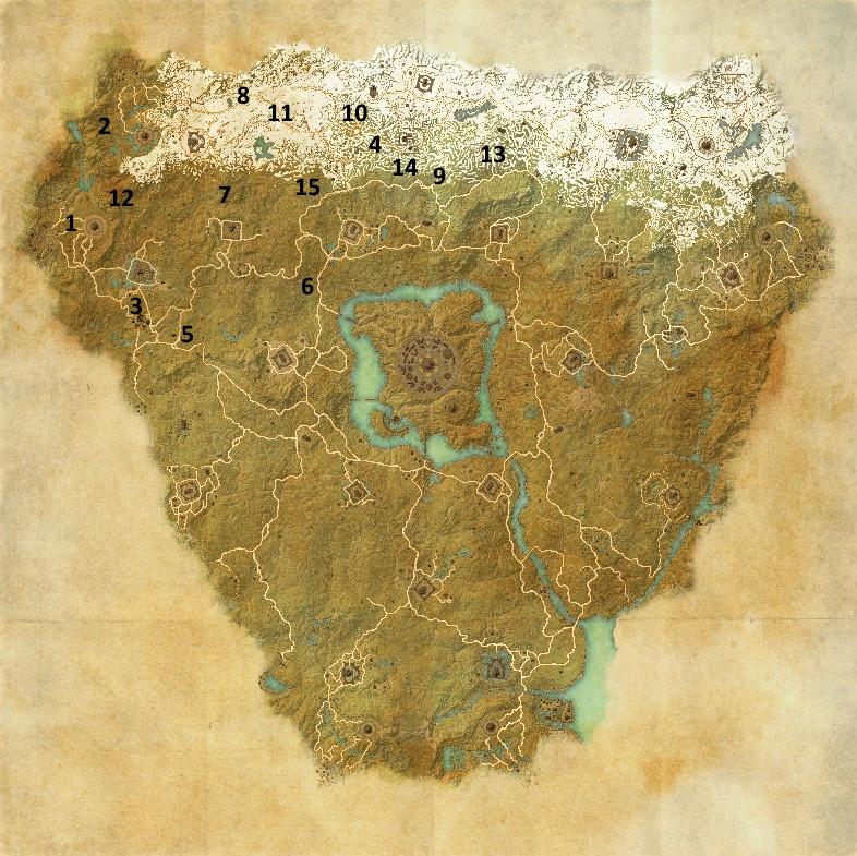 Daggerfall Alliance in northwestern Cyrodiil