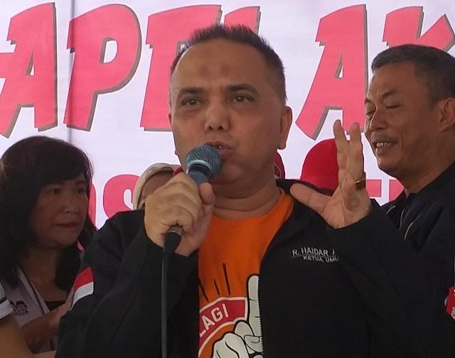 Haidar Alwi Minta Kepolisian Bongkar Pemain di Balik Aksi-Aksi Demo Anarkis