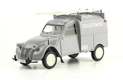 Citroën 2CV Furgoneta Teléfonos coches inolvidables salvat