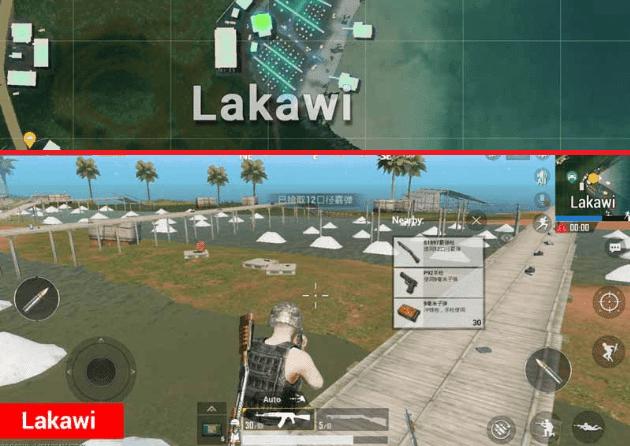 Lakawi Lokasi Terbaik di Map Sanhok PUBG Mobile