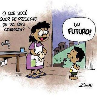 Resultado de imagem para futuro do jovem no brasil charge