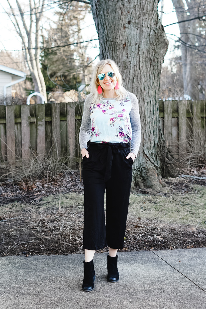 how to style paper bag pants