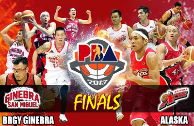 Alaska vs Ginebra PBA Finals 2013 game