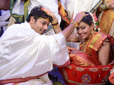 Geetha Madhuri andNandu Wedding rituals photos 1