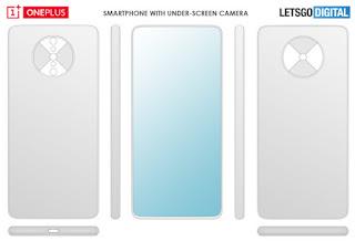 File OnePlus mematenkan untuk teknologi kamera di bawah tampilan
