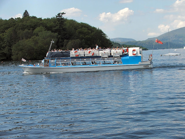 The yachts and water vehicles of Lake Windermere