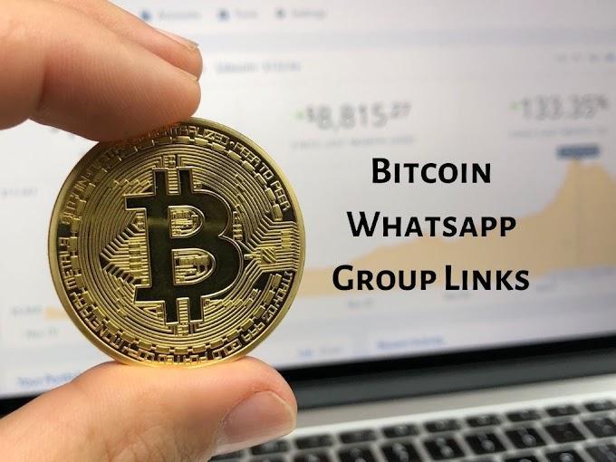 Bitcoin Update Whatsapp Group Links Invite List