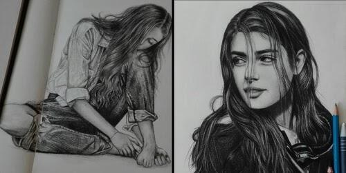 00-Portrait-Drawing-Maryam-Sadat-www-designstack-co