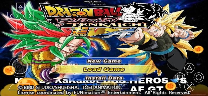 Android PSP Game Dragon Ball Super Vs AF DBZ TTT MOD Download
