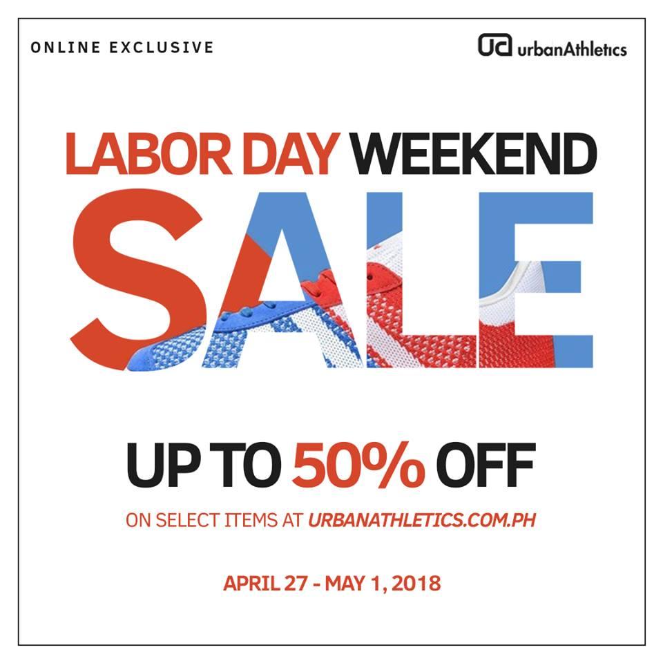 manila shopper urban athletics labor day 2018 weekend online sale. Black Bedroom Furniture Sets. Home Design Ideas