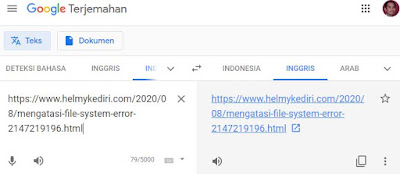 Cara translate halaman website 6