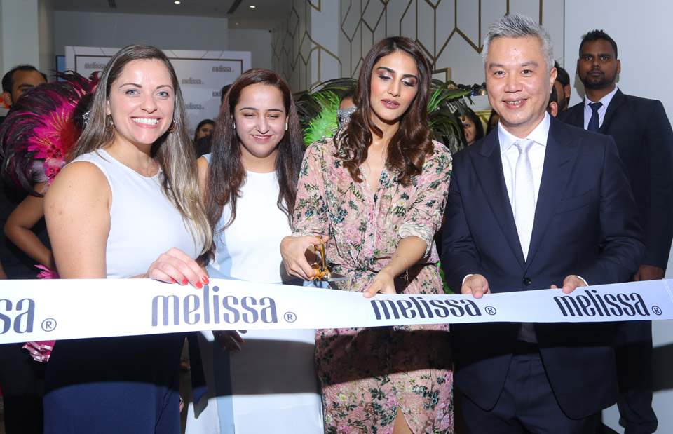Vaani Kapoor at the opening of Brazilian brand Melissa