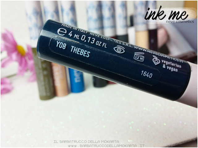 THEBES INKME EYELINER NEVE COSMETICS REVIEW RECENSIONE