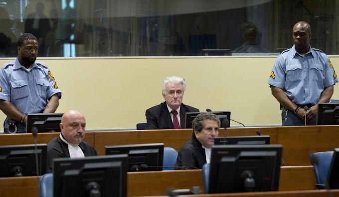 Hollandiából egy brit börtönbe szállítják át a srebrenicai mészárost