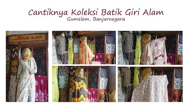 Cantiknya Koleksi Batik Giri Alam Gumelem Banjarnegara