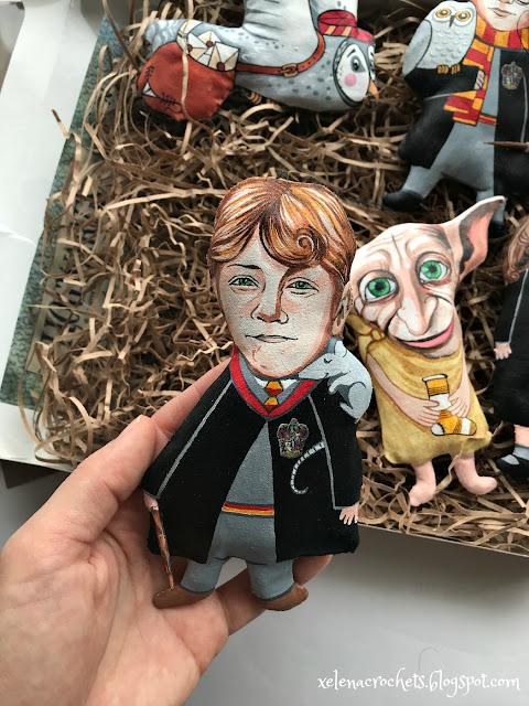 игрушка на елку на тему Гарри Поттера Рон