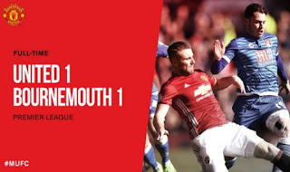 Manchester United vs AFC Bournemouth Imbang 1-1