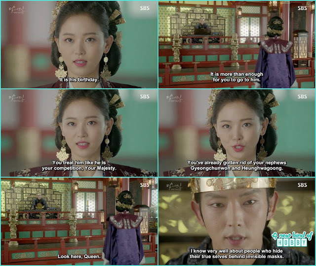 king wang so told Yeon Hwa He knew the true faces of the people behind the mask  - Moon Lovers Scarlet Heart Ryeo - Episode 20 Finale (Eng Sub)