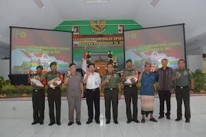 400 Babinsa Jajaran Kodam IX/Udayana Ikuti Sosialisasi Pendampingan Upsus