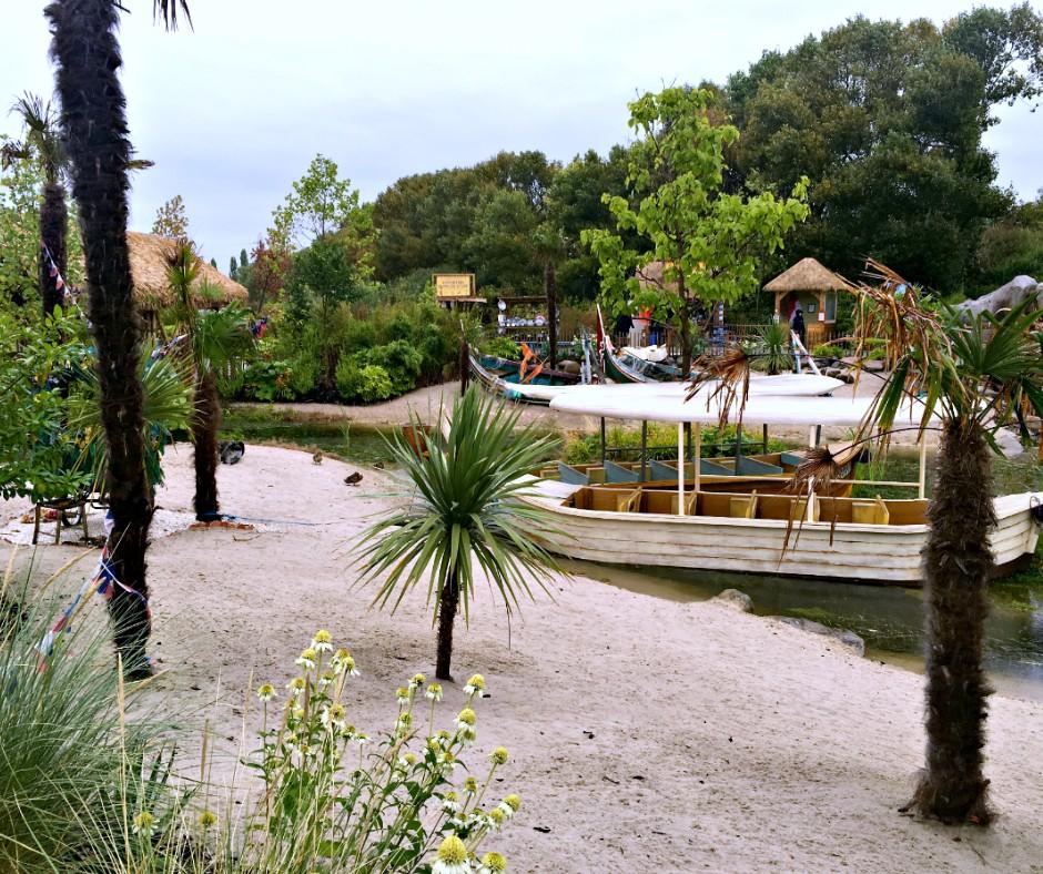 Chester Zoo, heading towards a boat ride.