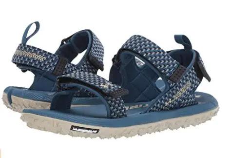 6- Under Armour Fat Tire Sandals