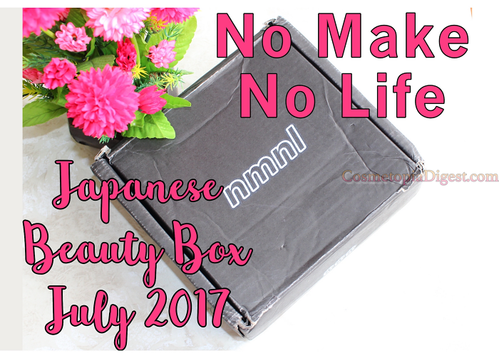 Review and unboxing of the No make no life Beauty Box for July 2017.