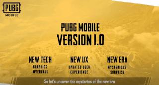 Pubg mobile 1.0 new era