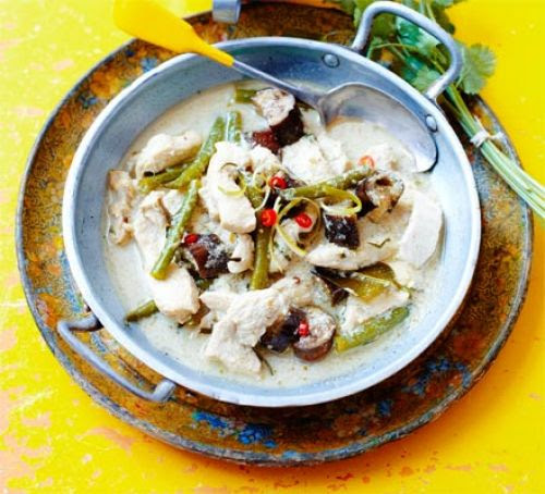 Thai green chicken curry ~ All Type of blogging Tips