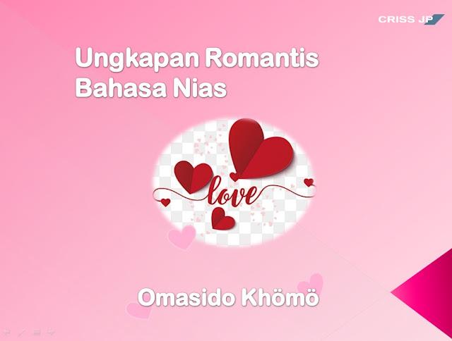 Kata-kata Romantis Orang Nias