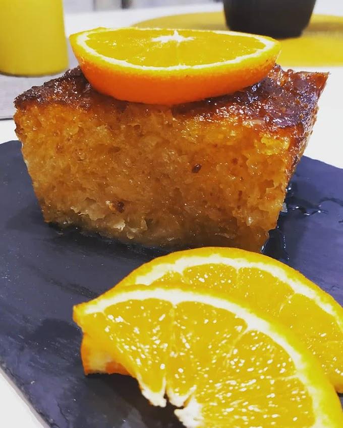 Υπέροχη πορτοκαλόπιτα