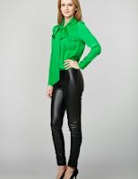 Pantaloni din piele eco (Moja)