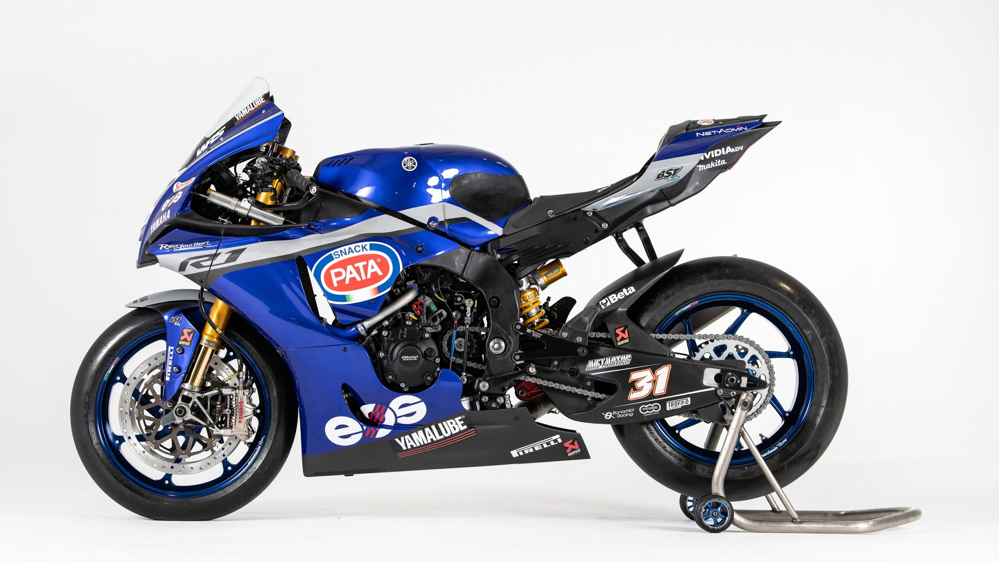 Yamaha perkenalkan livery baru tim GRT Yamaha R1 di WSBK 2021