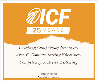 ICF Core Competency: Active Listening
