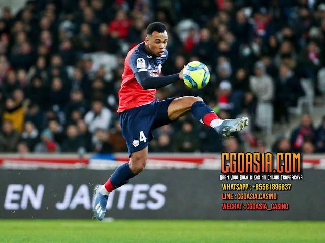 Gabriel Magalhaes pemain Brasil Lille target Chelsea, Arsenal dan Everton. - rumahsport.com