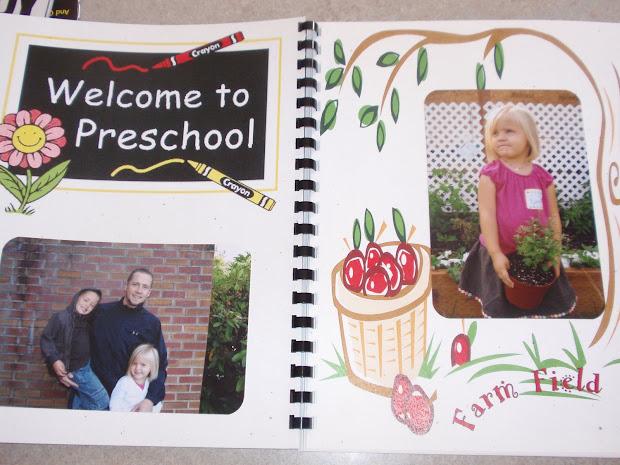 Mcgowan Foursome Ellee' Preschool Memory Book