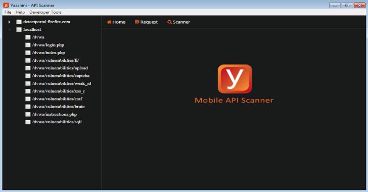 Yaazhini – Free Android APK & API Vulnerability Scanner