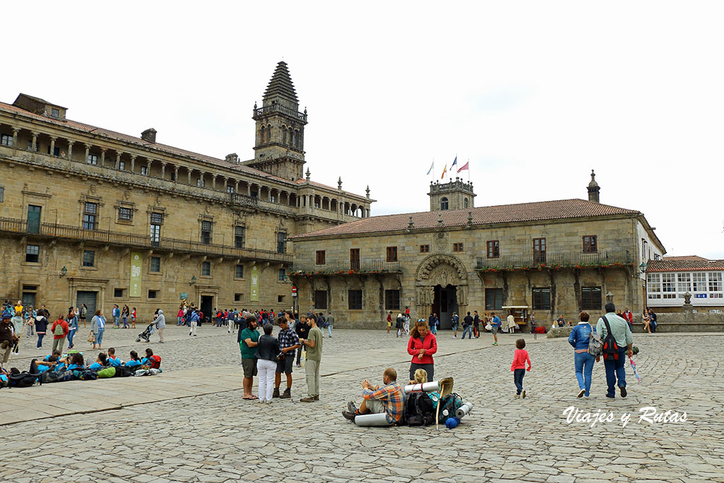 Plaza del Obradoiro de Santiago de Compostela