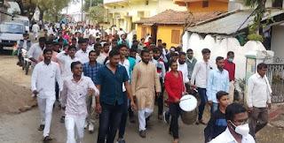 पूर्व मुख्यमंत्री कमलनाथ, सांसद नकुलनाथ का सौंसर मे कांग्रेस नेता सोपान कोहले एवं मित्रपरिवार ने किया भव्य स्वागत
