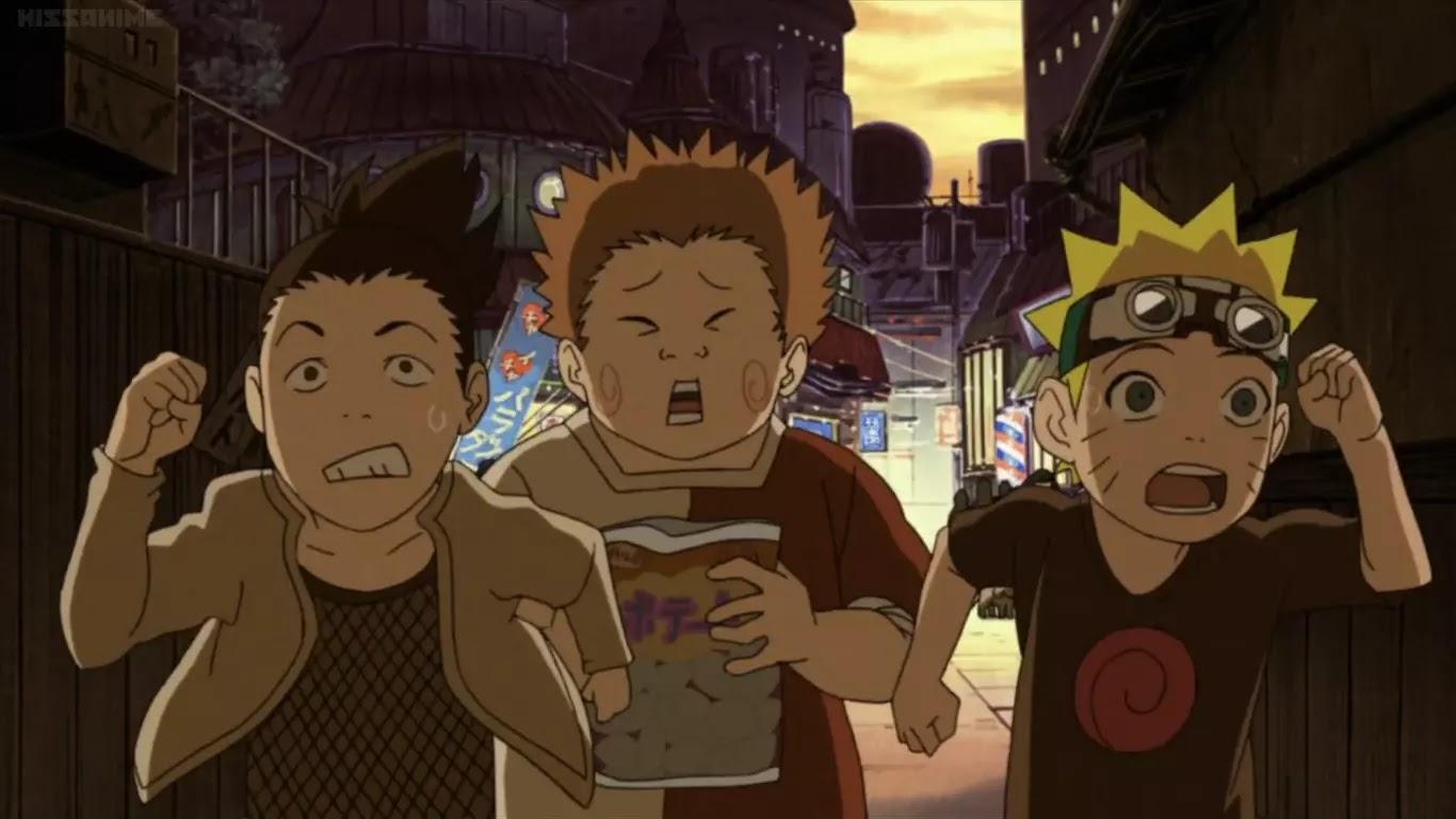 Sedih! 5 Fakta Saat Naruto Masih Kecil