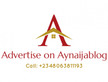 ADVERTISE On Aynaijablog