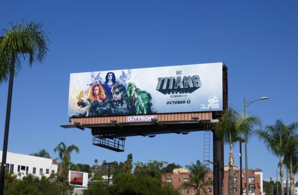 DC Titans season 1 billboard