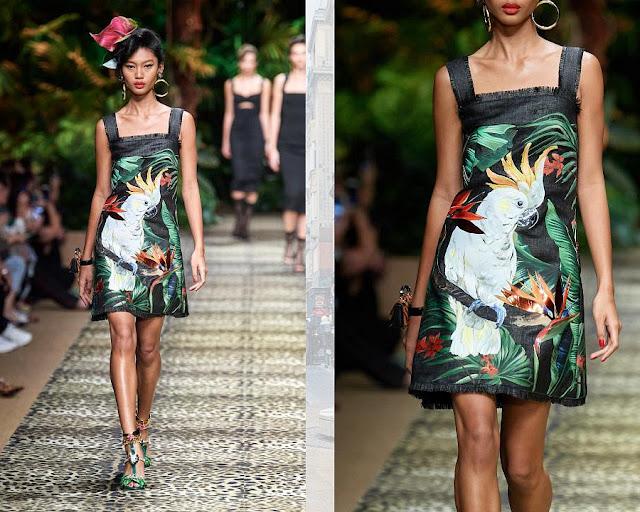 Dolce & Gabbana весна-лето 2020 Показ моды 3