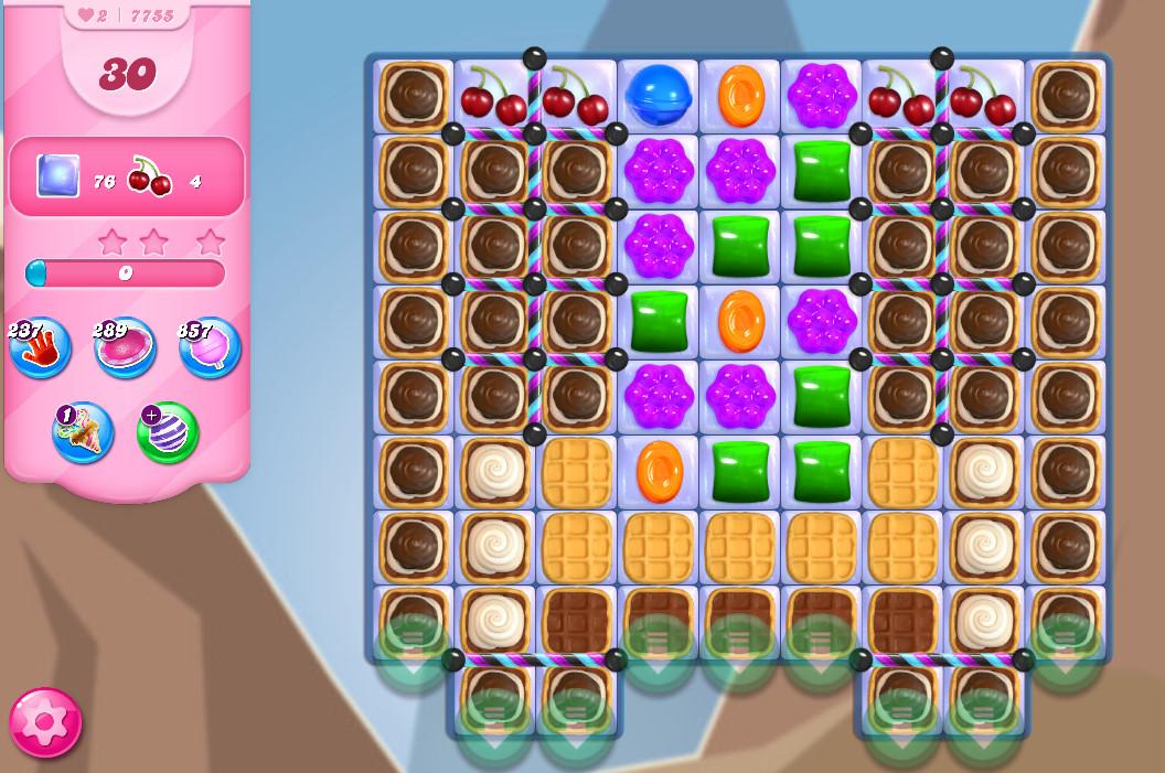 Candy Crush Saga level 7755