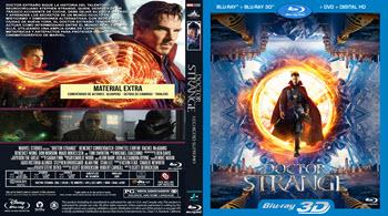 Doctor Strange - Bluray 3D