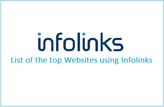 Websites using Infolinks